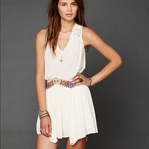 Free People Embroidered Lace Dress